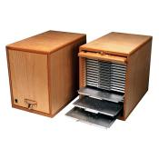 Microscope Slide Cabinet (incl. 20 aluminum trays)
