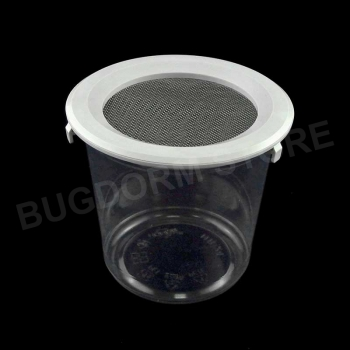 Pint-sized Insect Pot with Snap Lid (720 ml, wire screen)
