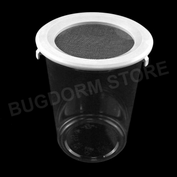 Pint-sized Insect Pot with Snap Lid (960 ml, wire screen)